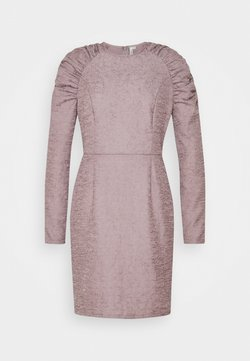 Nly by Nelly - PUFFY SLEEVE DRESS - Shift dress - grey