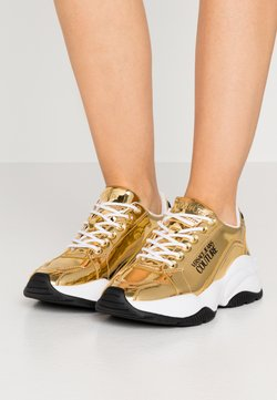 Versace Jeans Couture - CHUNKY SOLE - Sneaker low - oro