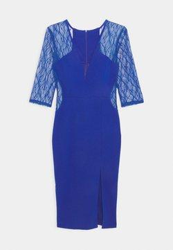 WAL G. - MAISIE SLEEVE MIDI DRESS - Cocktailkleid/festliches Kleid - electric blue