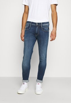 Replay - ANBASS HYPERFLEX RE-USED - Slim fit jeans - dark blue denim