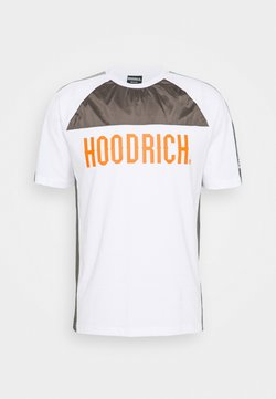 Hoodrich - T-shirt print - white/grey