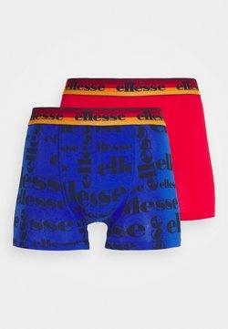 Ellesse - MENS PRINTED 2 PACK - Panty - blue/red