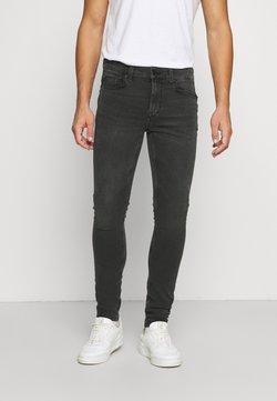 Only & Sons - ONSWARP LIFE WASHED - Jeans Skinny Fit - black denim