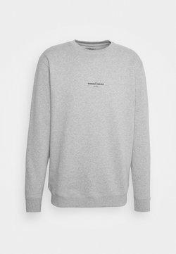 GARMENT PROJECT - CREW NECK - Sweatshirt - grey melange