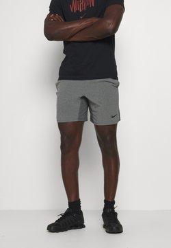 Nike Performance - SHORT YOGA - kurze Sporthose - iron grey/grey fog/black