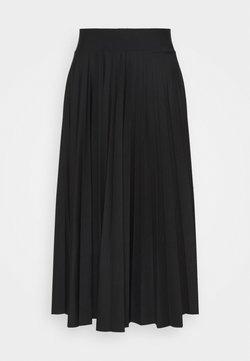 Esprit Collection - PER PLISSÈE - A-linjainen hame - black