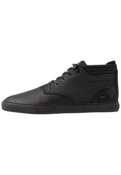 Lacoste - ESPARRE CHUKKA - Höga sneakers - black