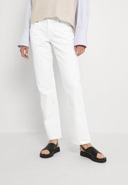 Weekday - ARROW LOW - Jeans straight leg - white