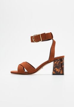 ONLY SHOES - ONLAMANDA LIFE HEELED - Sandales - brown
