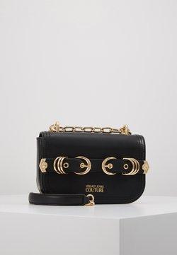 Versace Jeans Couture - BUCKLE RING HARDWEAR - Torba na ramię - black