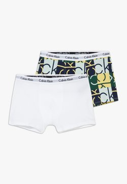 Calvin Klein Underwear - TRUNKS 2 PACK - Shorty - green