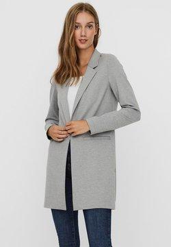 Vero Moda - VMCHLOE LONG BOO - Manteau court - light grey melange