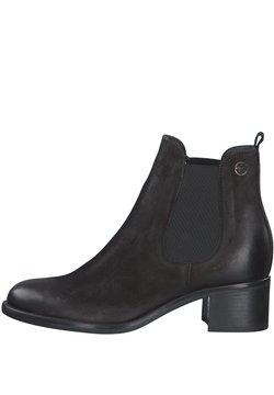 Tamaris - Ankle Boot - black nubuc