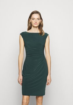 Lauren Ralph Lauren - MID WEIGHT DRESS - Vestido de tubo - midnight spruce