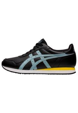 ASICS - TIGER RUNNER - Sneaker low - black/light steel