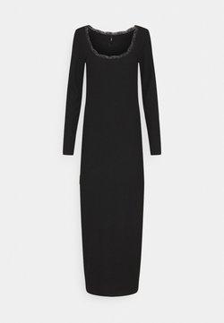 ONLY Tall - ONLNELLA O NECK DRESS - Robe pull - black