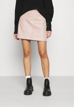 ONLY - ONLNAYA SKIRT - Mini skirt - shadow gray