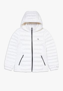 Calvin Klein Jeans - FITTED LIGHT JACKET - Doudoune - white