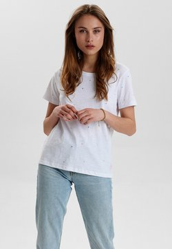 Nümph - NUCEIL TEE - T-Shirt print - off white