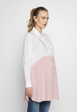 Seraphine - WENDY COLOUR BLOCK - Camisa - blush/white