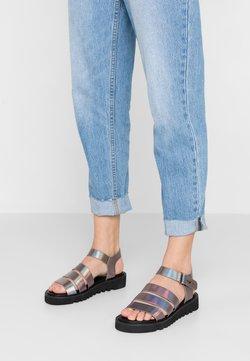 Even&Odd - Korkeakorkoiset sandaalit - multicolor