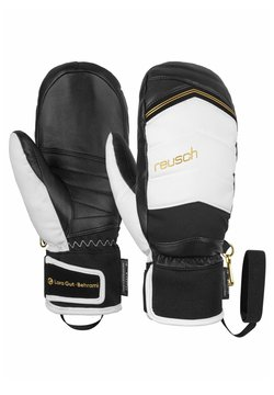 Reusch - Fäustling - black/white/gold