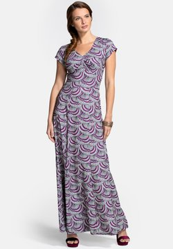 HotSquash - Maxikleid - purple kimono print