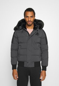 Kings Will Dream - PUFFER BOMBER JACKET - Winterjacke - charcoal