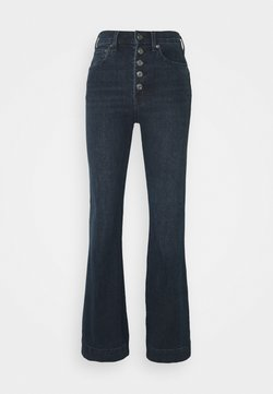 GAP - HARVARD - Flared Jeans - dark wash