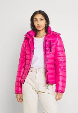 Superdry - SHINE FUJI  - Winterjacke - hot pink