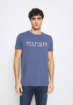 Tommy Hilfiger - TEE - T-shirt con stampa - blue