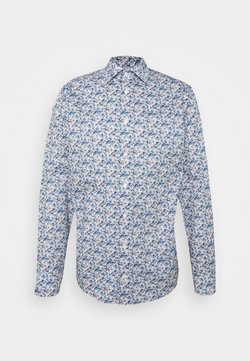 Eton - SLIM STAINED GLASS FLORAL - Camicia - blue signature
