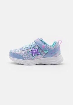 Skechers - GLIMMER KICKS - Sneaker low - lavender rock glitter/aqua