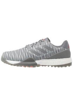 adidas Golf - CODECHAOS SPORT - Golf shoes - grey two/grey three/solar red