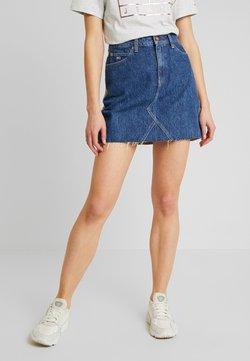 Tommy Jeans - SHORT SKIRT - Minirock - blue denim