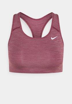 Nike Performance - BRA NON PAD - Sport BH - dark beetroot/pure/white