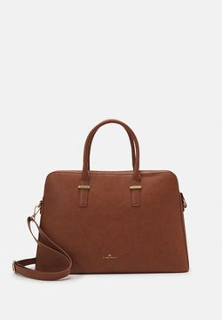 Anna Field - Notebooktasche - cognac