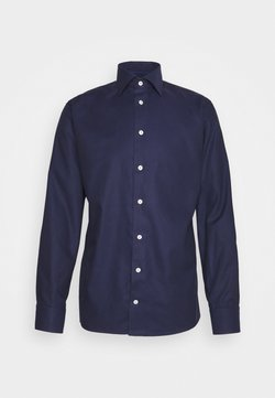 Eton - SLIM FINE DOTTED WEAVE SHIRT - Businesshemd - blue