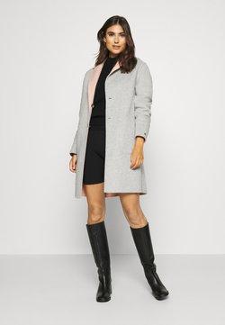 Tommy Hilfiger - ALISON BLEND COAT - Classic coat - cameo/medium grey heater