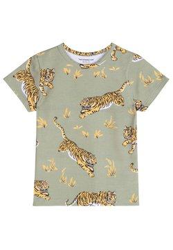 The Striped Cat - CLASSIC TIGER - T-shirt print - khaki green