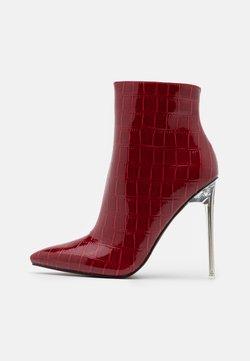 BEBO - ROLENE - High heeled ankle boots - burgundy