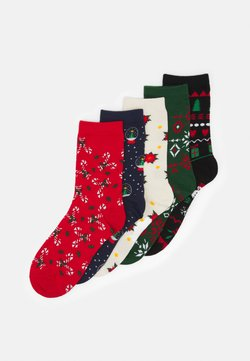 Monki - POLLY SOCK 5 PACK - Sokken - multi-coloured