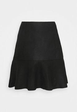 YAS - YASCOLLY NAPLON SKIRT - Mini skirt - black