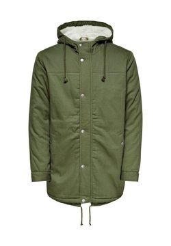 Only & Sons - Wintermantel - olive night