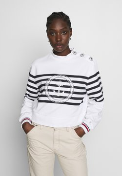 Tommy Hilfiger - ICON HIGH - Sweatshirt - white