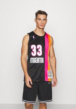 Mitchell & Ness - NBA MIAMI HEAT ALONZO MOURNING AUTHENTIC - Pelipaita - black