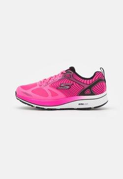 Skechers Performance - GO RUN CONSISTENT FLEET RUSH - Scarpe running neutre - pink/black