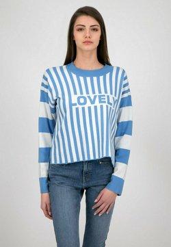 one more story - Sweatshirt - allure blue