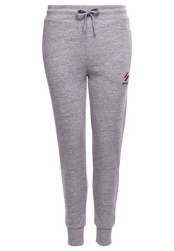 Superdry - Jogginghose - grey slub grindle