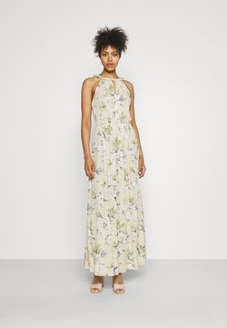 Vila - VIMESA BRAIDED DRESS - Maxikleid - sandshell